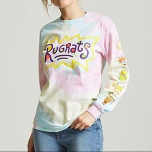 2706a6131832 Forever 21 Tops | Rugrats Graphic Tiedye Long Sleeve | Poshmark